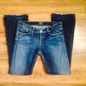 Citizens of Humanity Jeans Size 27 Petite Boot cut